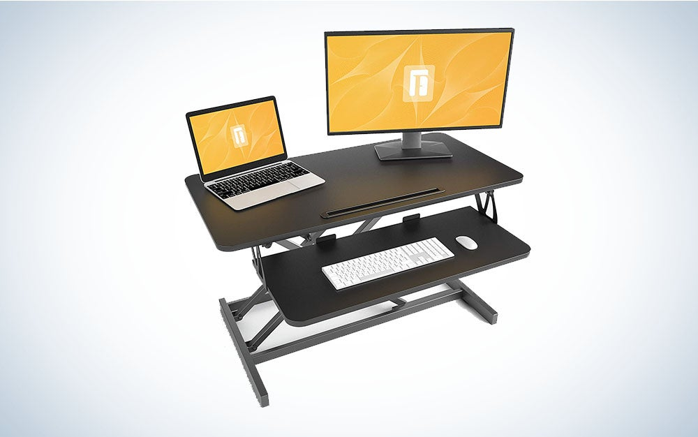 Standing Desk with Height Adjustable – FEZIBO