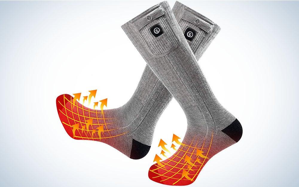 SNOW DEER Heated Socks