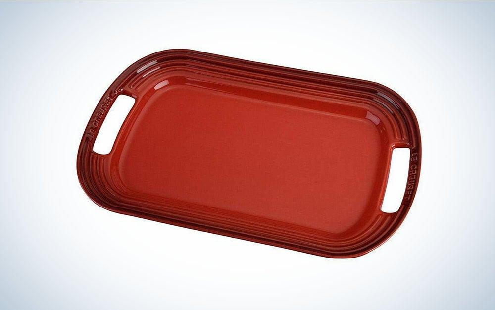 Le Creuset Stoneware Oval Serving Platter