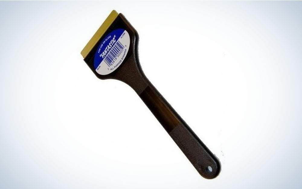 C J Industries F101 Fantastic Ice Scraper with Brass Blade