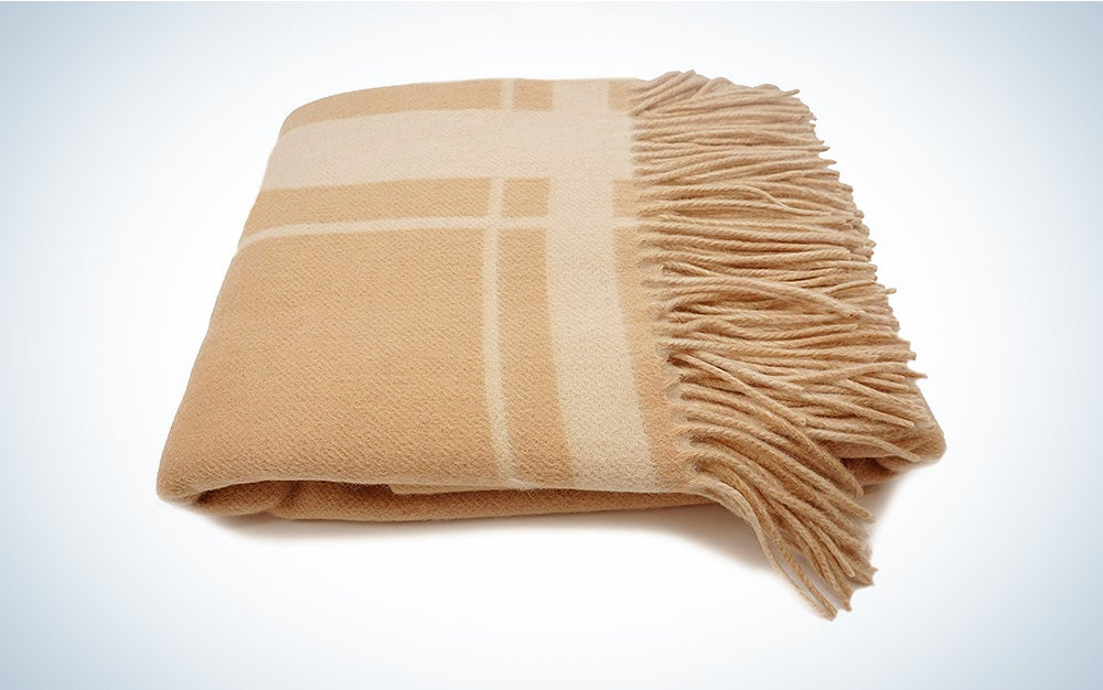 Cashmere Throw is one of the best birthday gift ideas for women