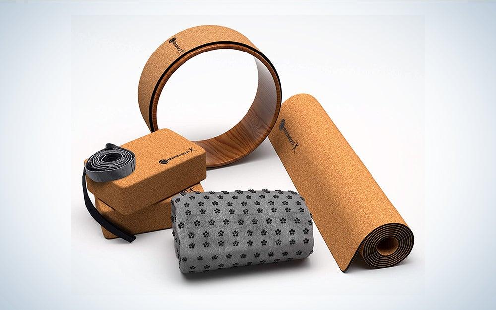 Mandelbrot X Cork 8-Piece Yoga Set
