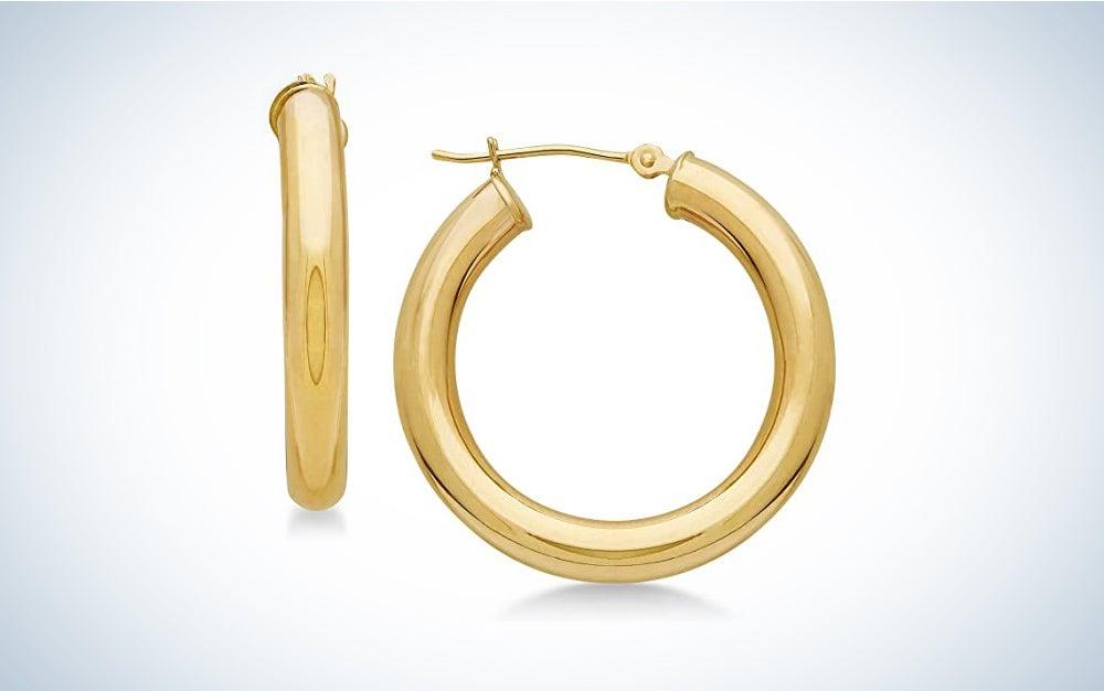 TILO Jewelry 14k Gold Hoops