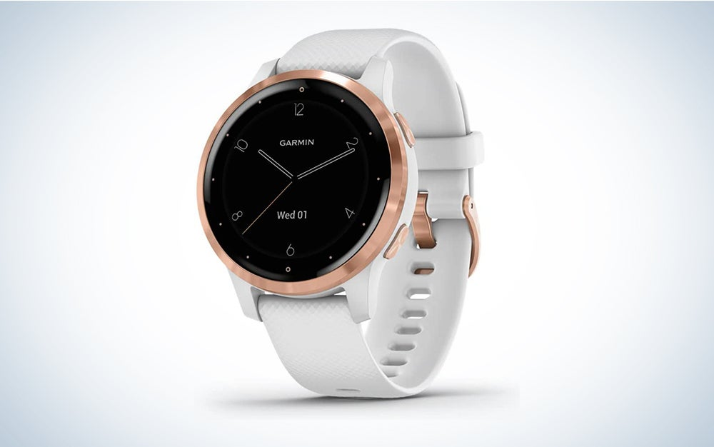 Garmin Vivoactive 4S Smartwatch is one of the best gifts for women who love fitness
