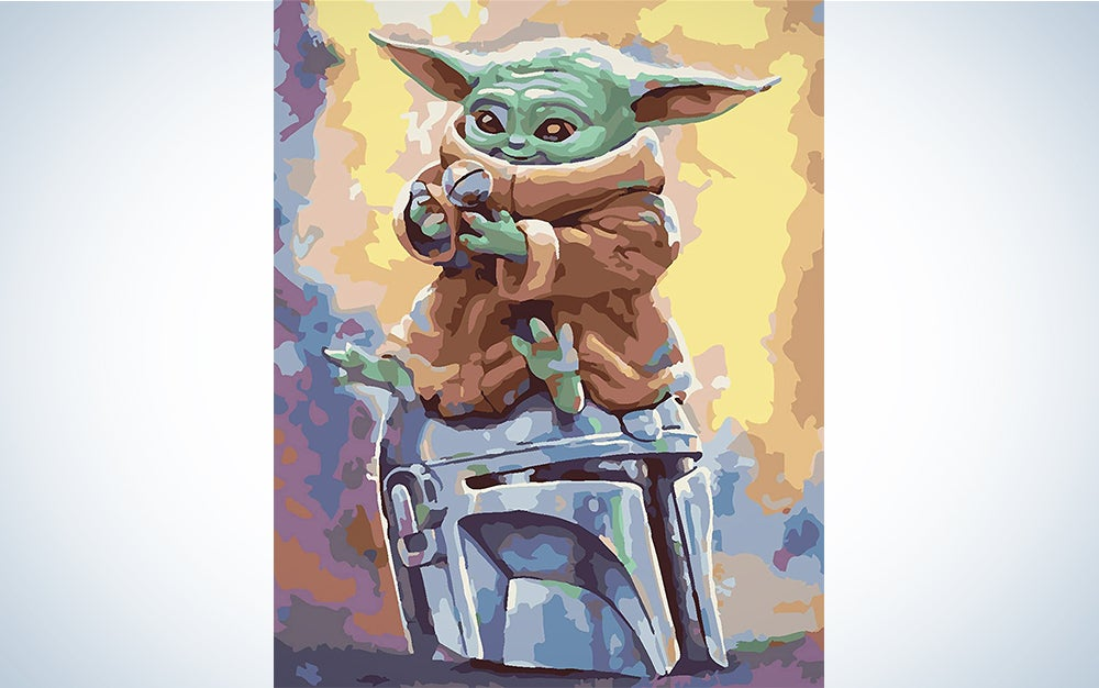 Baby Yoda Paint by Numbers Set