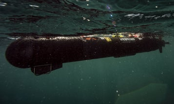 The Royal Navy's robotic sub will be a test bench under the sea