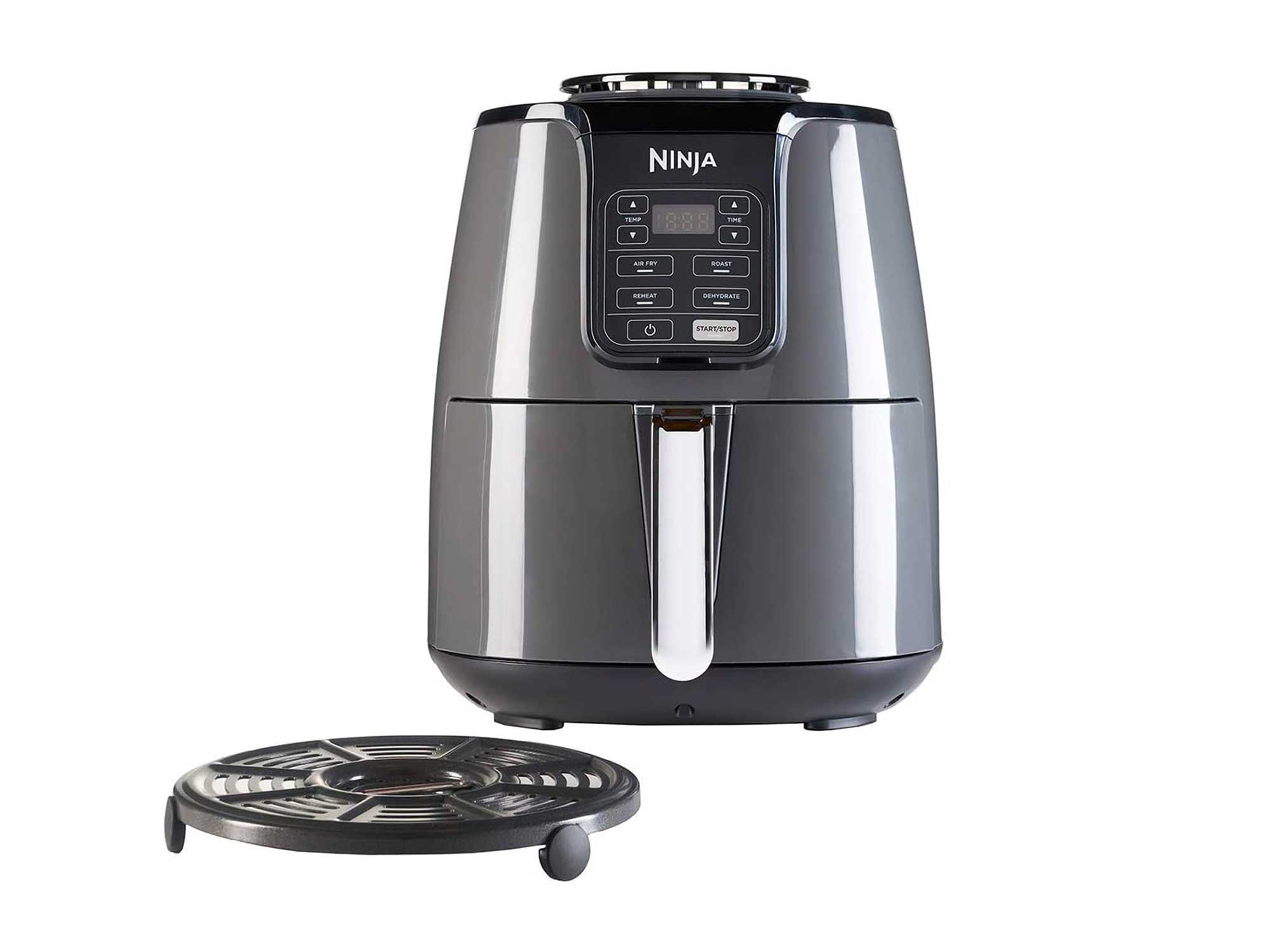 Ninja Air Fryer 3.8 Litres, Grey and Black
