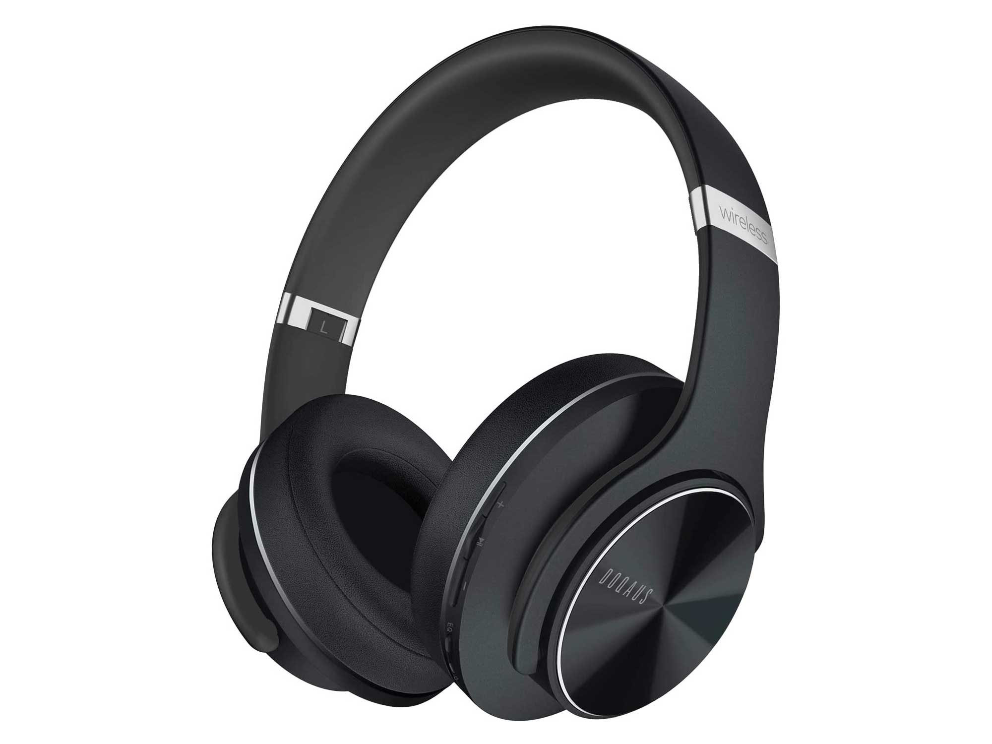 DOQAUS Bluetooth Headphones Over Ear, [52 Hrs Playtime] Wireless Headphones