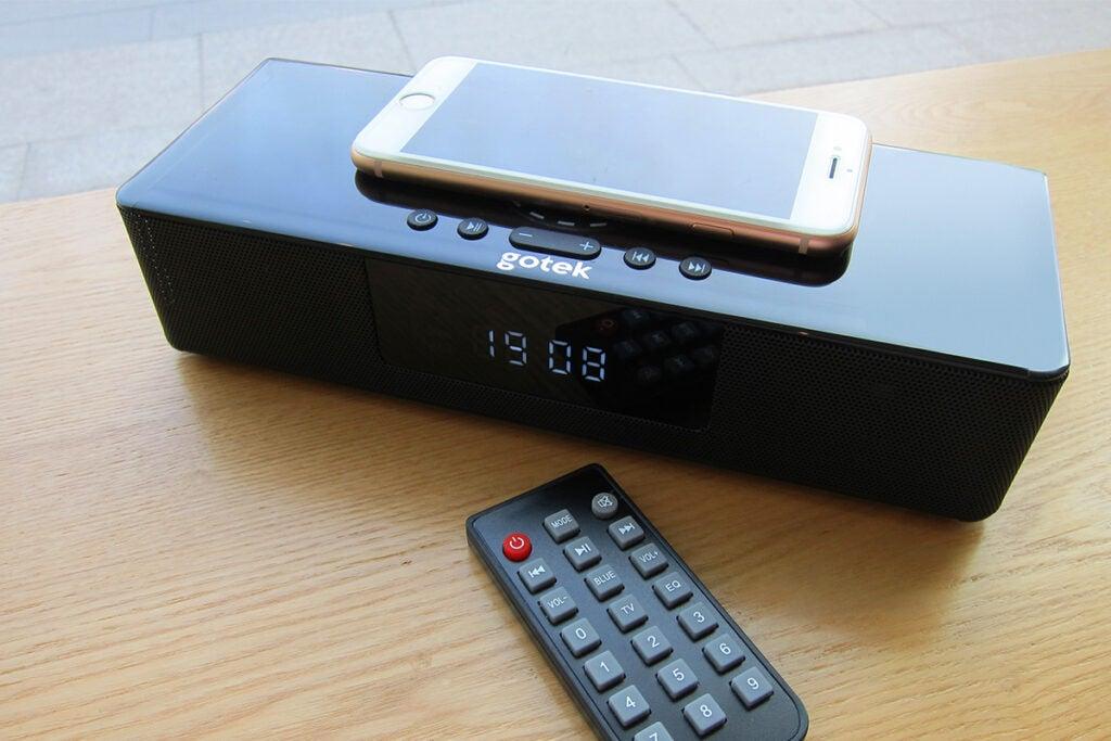 Gotek Boost Wireless Charging Music Station