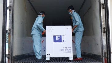 covid-19 vaccine delivered by COVAX
