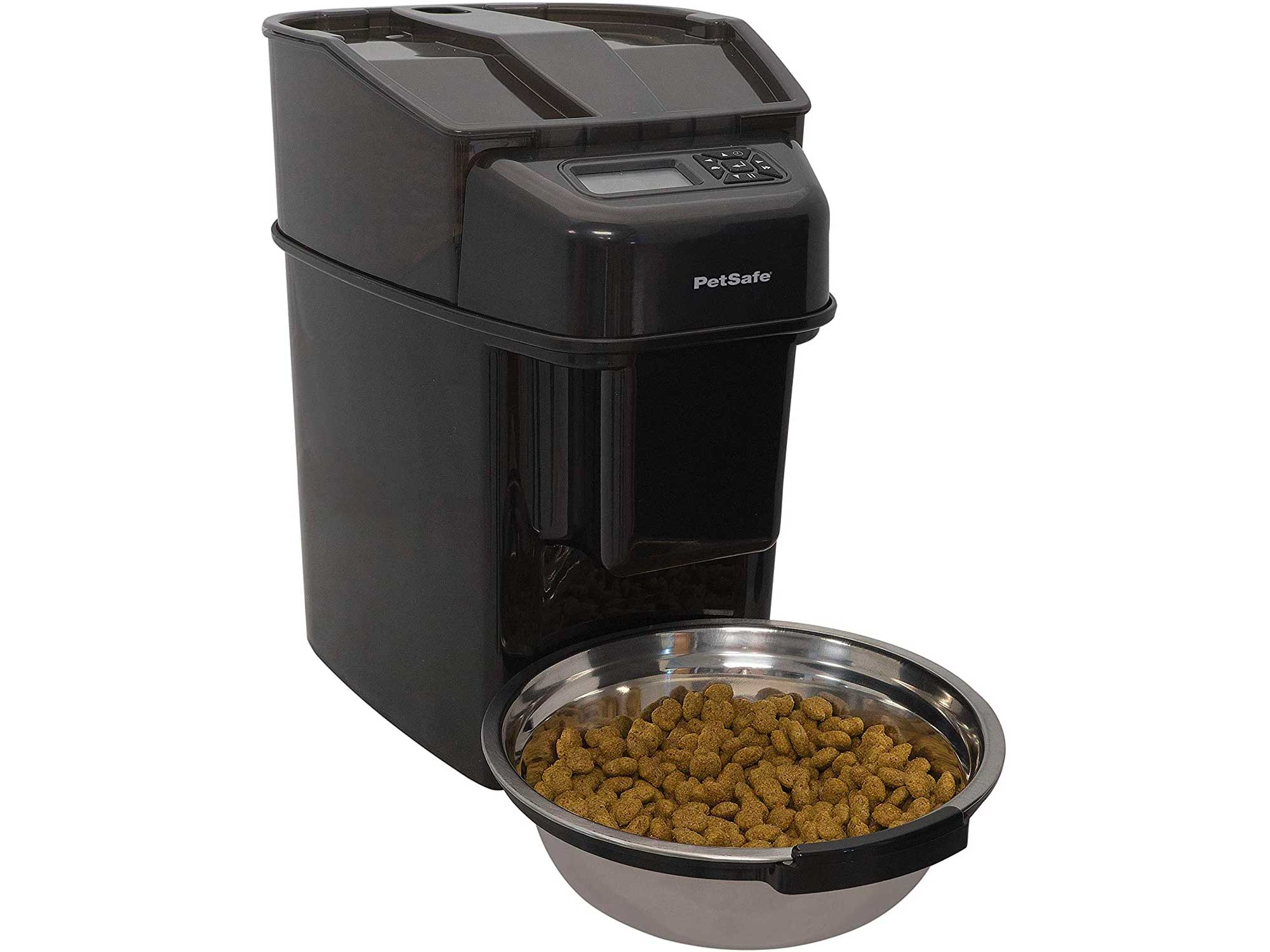 PetSafe Healthy Pet Simply Feed Pre-Portioned Automatic Food Dispenser for Cats and Dogs