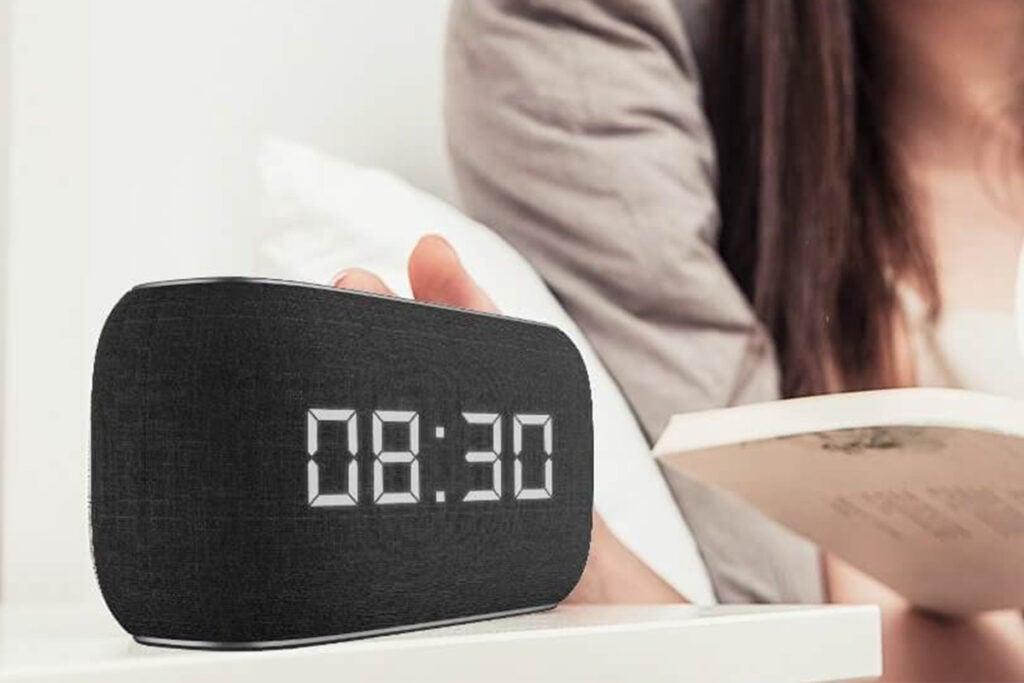 Havit Bluetooth Speaker with Radio and Clock