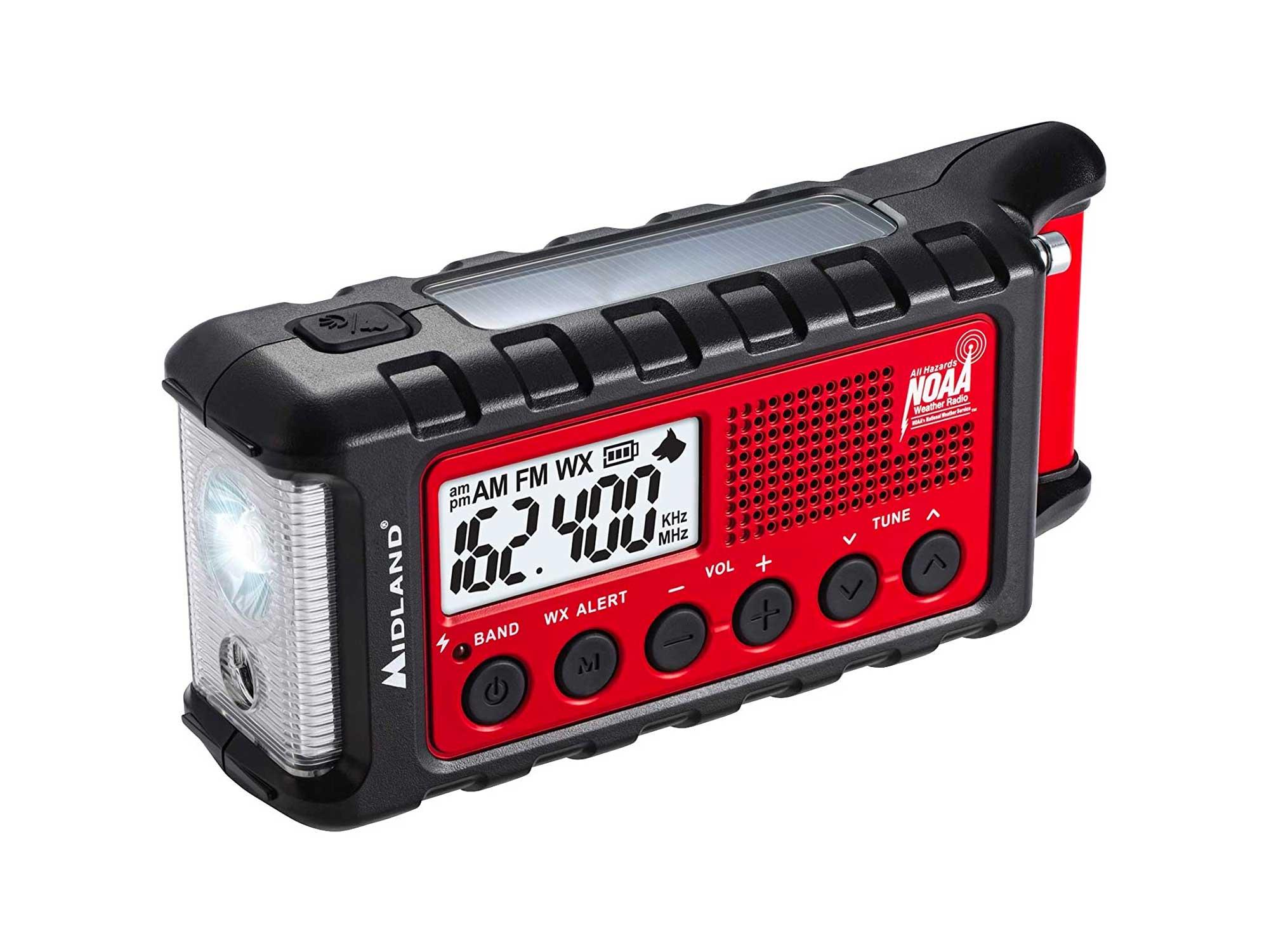 Emergency Crank Weather AM/FM Radio