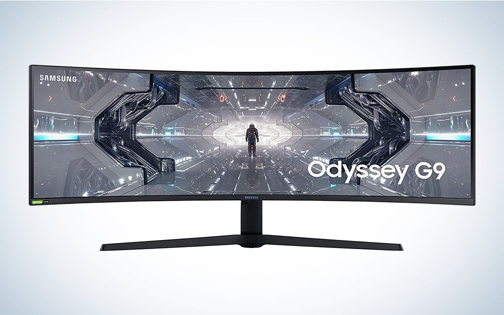 Samsung Odyssey G9 Monitor is one of the best monitors for home office