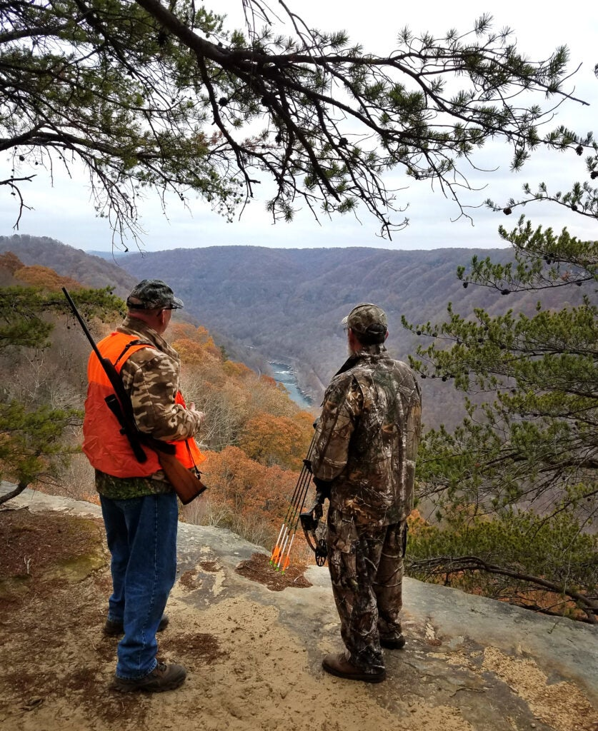 New River Gorge National Park and Preserve, before it was closed to hunting.