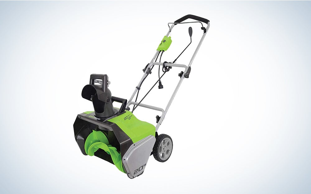 Greenworks 13 Amp 20-Inch Corded Snow Thrower