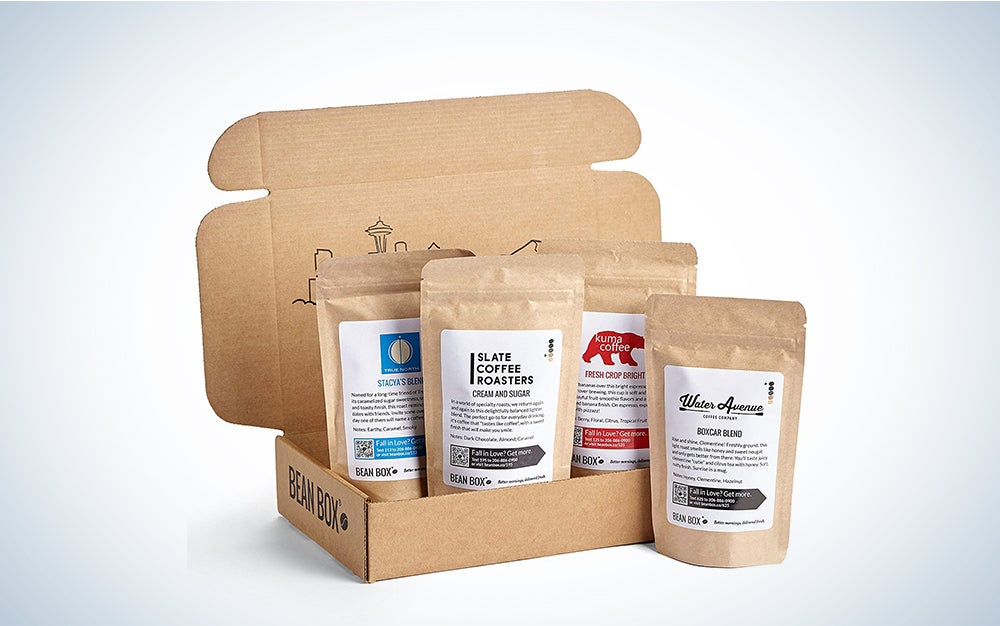 Bean Box Sampler Coffee Subscription
