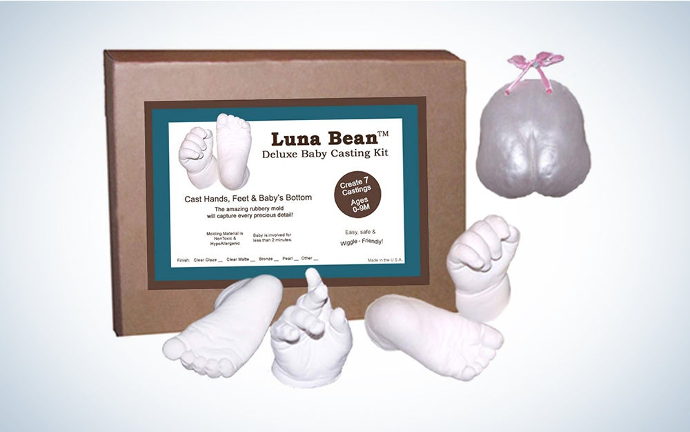 ProduLuna Bean Deluxe 3D Prints Baby Casting Kit