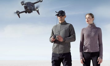 DJI's FPV drone offers a first-person view of the sky
