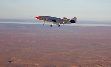 Watch this Boeing fighter jet drone fly for the first time