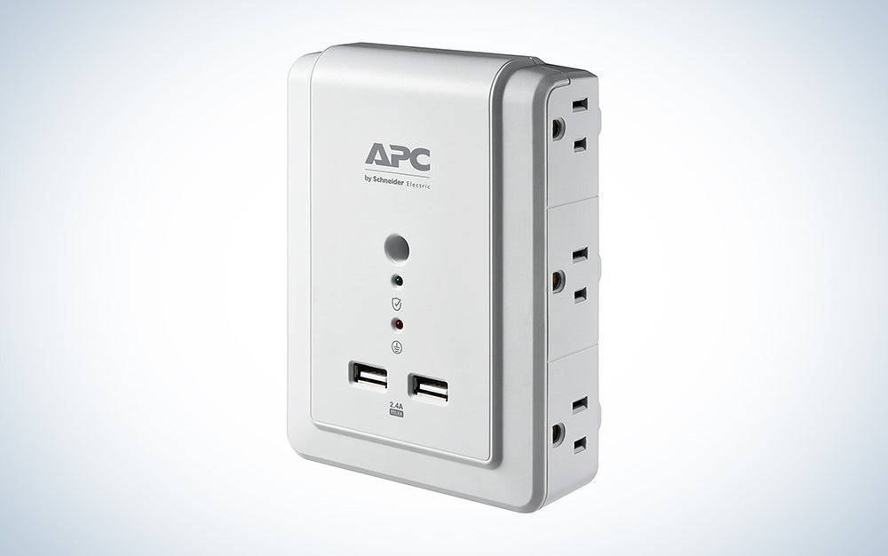 APC Wall Outlet Plug Extender