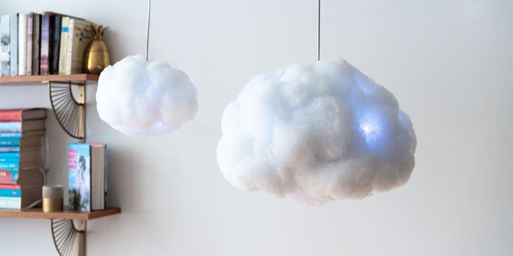 Interactive Cloud Lamp