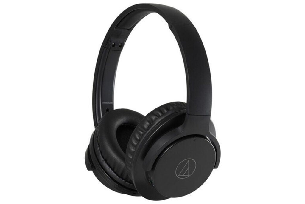 Audio-Technica ATH-ANC500BT QuietPoint Wireless Over-Ear Noise-Canceling Headphones (Refurbished)