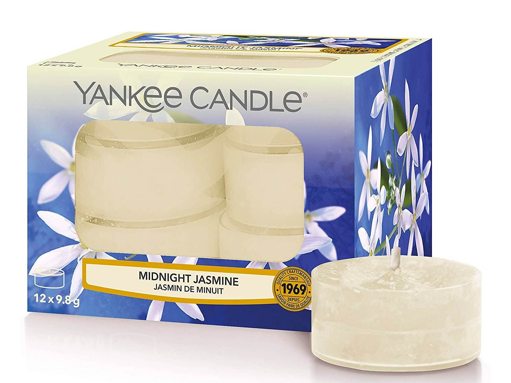 Yankee Candle Tea Light Scented Candles Midnight Jasmine