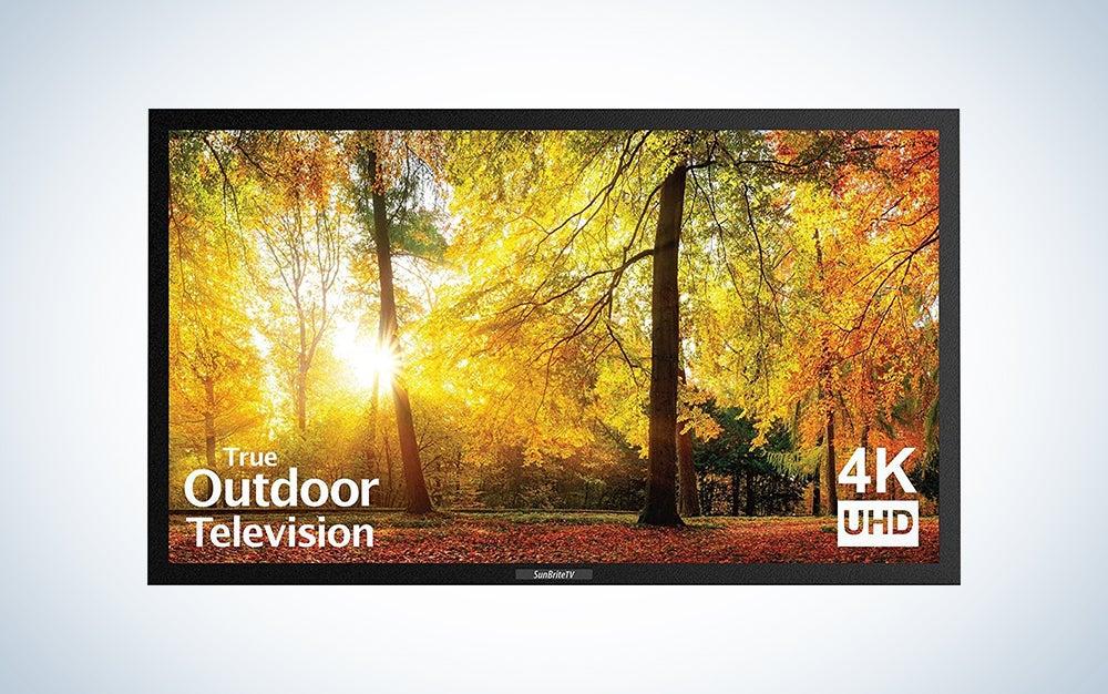 SunBriteTV SE 43-Inch Weatherproof Outdoor Television Excellent Sound Quality