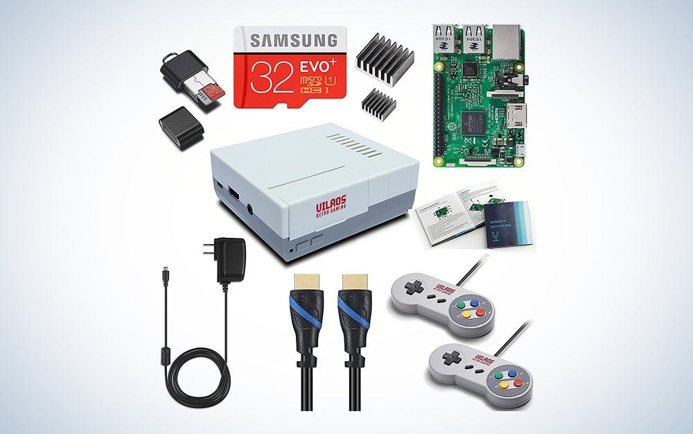 Vilros Raspberry Pi 3 Retro Arcade Gaming Kit