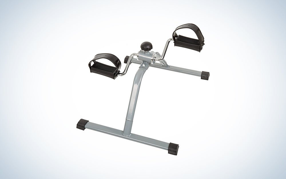 Wakeman Portable Fitness Stationary Under Desk Bike