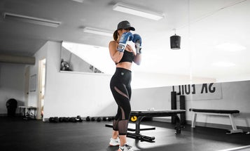 Boxing gloves to bring to the gym, ring, or at-home mat