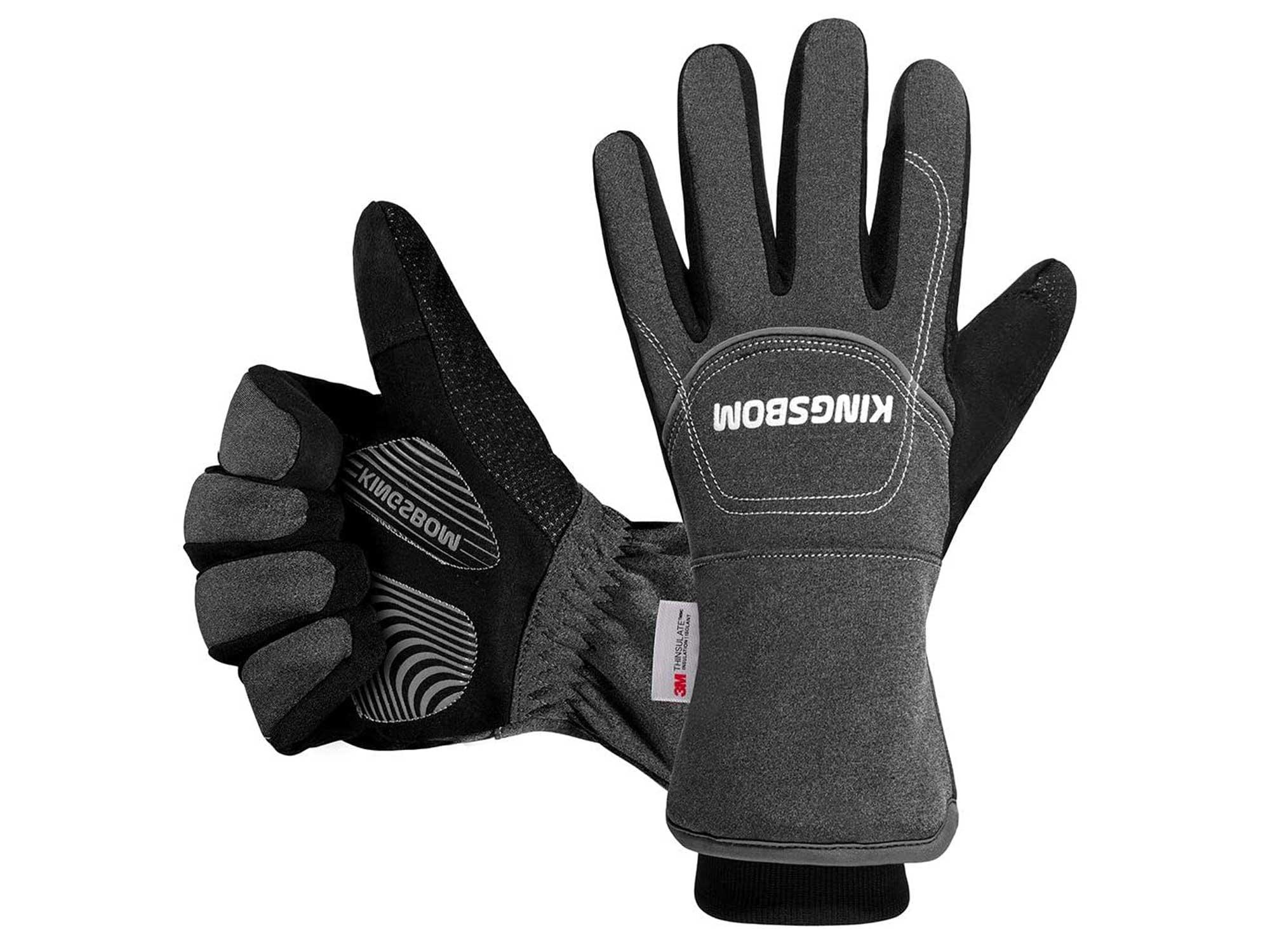 KINGSBOM -40℉ Waterproof & Windproof Thermal Gloves