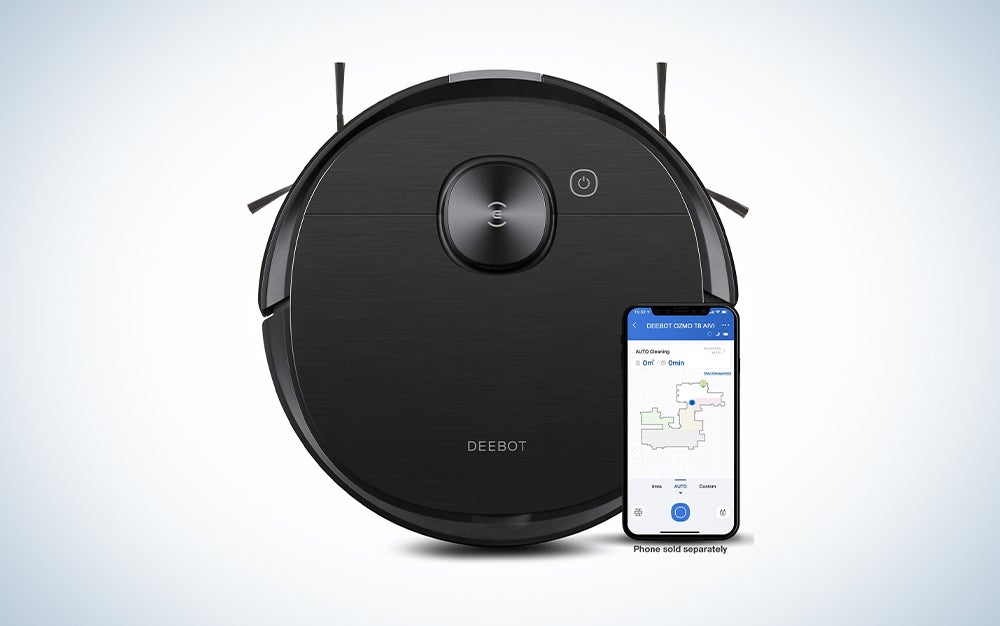 Ecovacs Deebot T8 AIVI Robot Vacuum Cleaner is one of the best robot vacuum and mop models.
