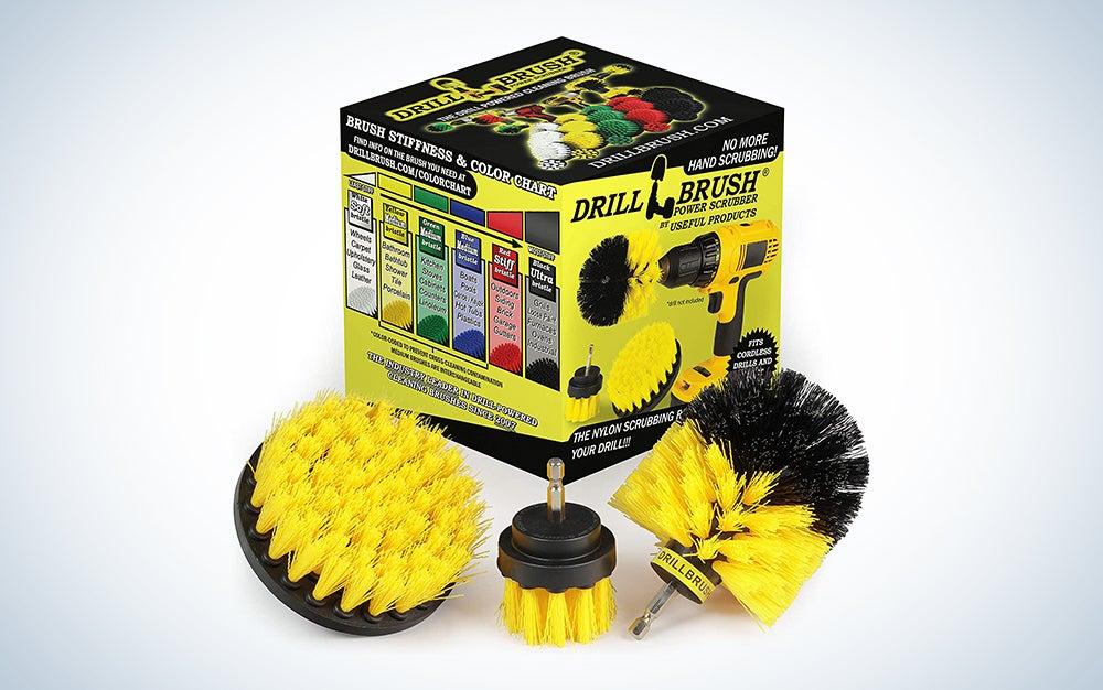 Useful Drill Brush Attachment