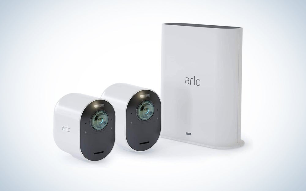 Arlo Ultra 2 Spotlight 2 Camera Kit is one of the best home security cameras.