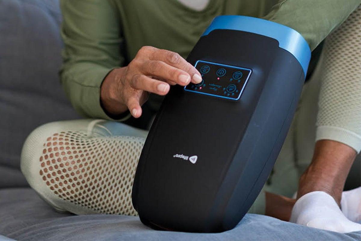 Legra Cordless Air Compression Hand Massager Machine