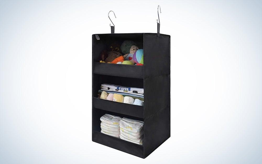 GRANNY SAYS 3-Shelf Hanging Closet Organizer