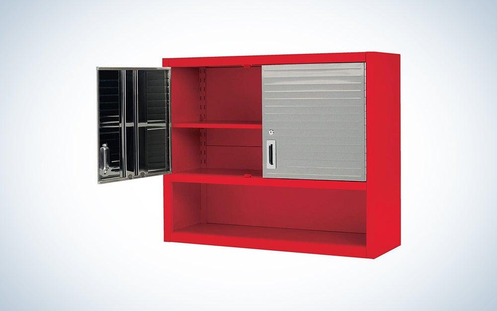 Seville Classics Open Shelf Wall Cabinet