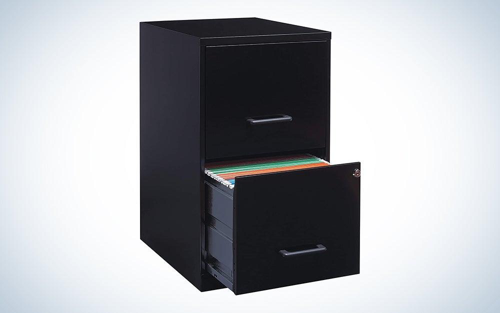 Lorell 2-Drawer File Cabinet