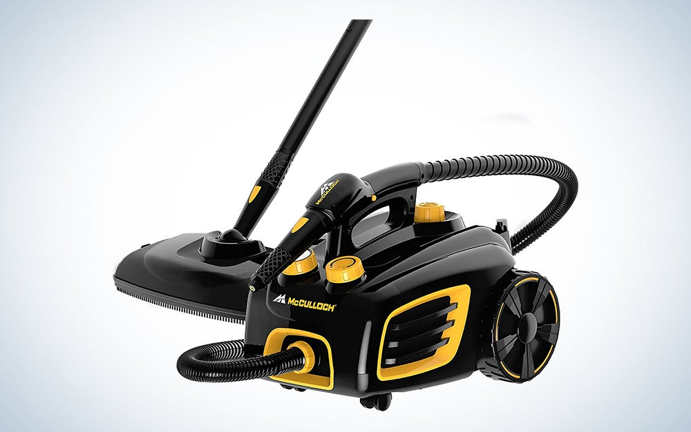 McCulloch Canister Steam Cleaner
