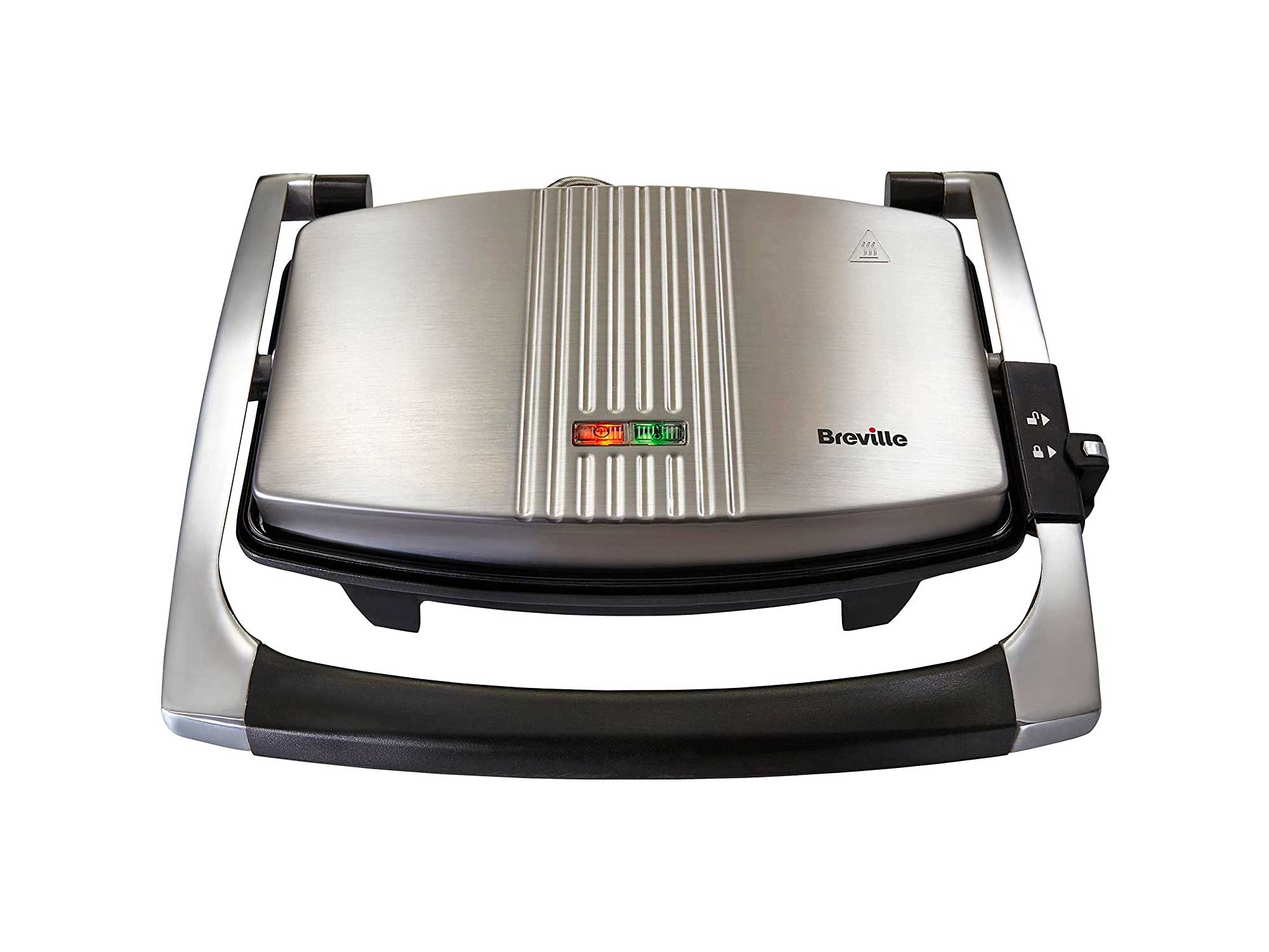 Breville Sandwich/Panini Press and Toastie Maker, Stainless Steel