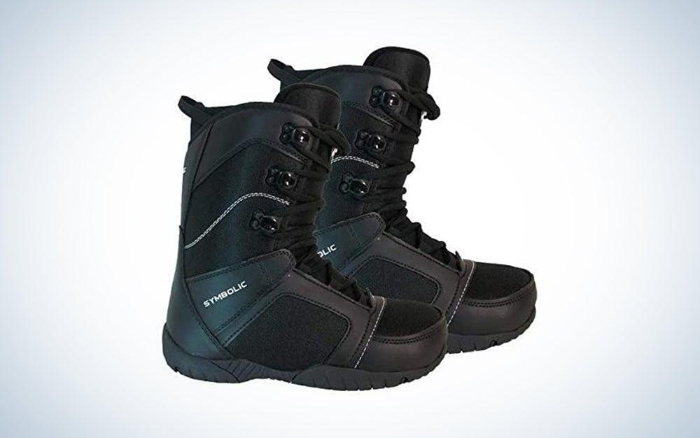 Symbolic Ultra Light Black Snowboard Boots Mens