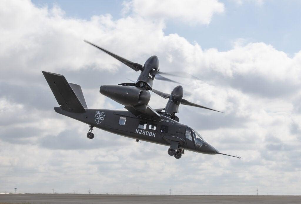 A V-280 Valor taking off.