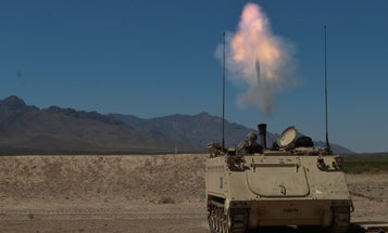Laser detection and GPS guide this new mortar to its target with better accuracy