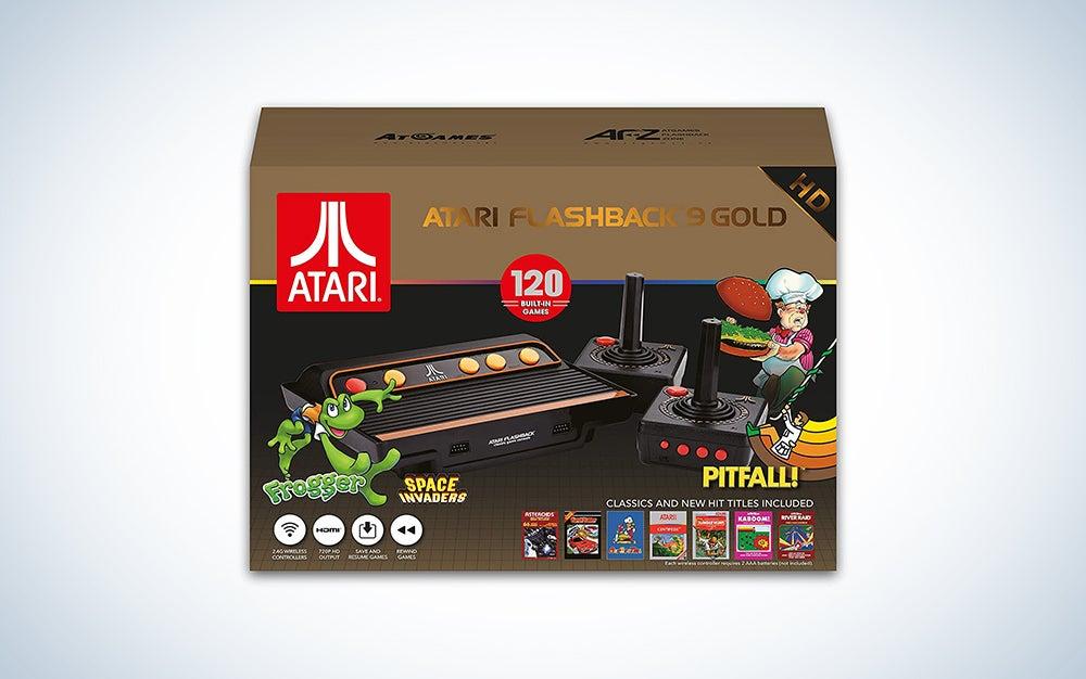 box of atari video games