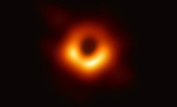 Here's the first-ever direct image of a black hole