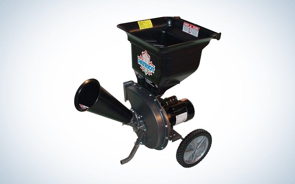 black mulcher on wheels