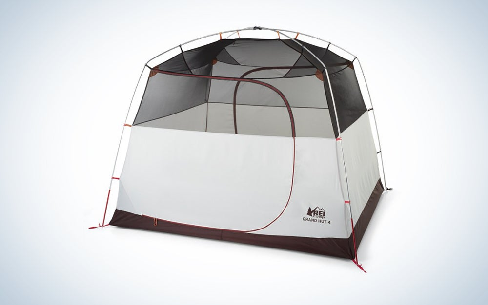 white and mesh camping tent is one of the best gifts for him