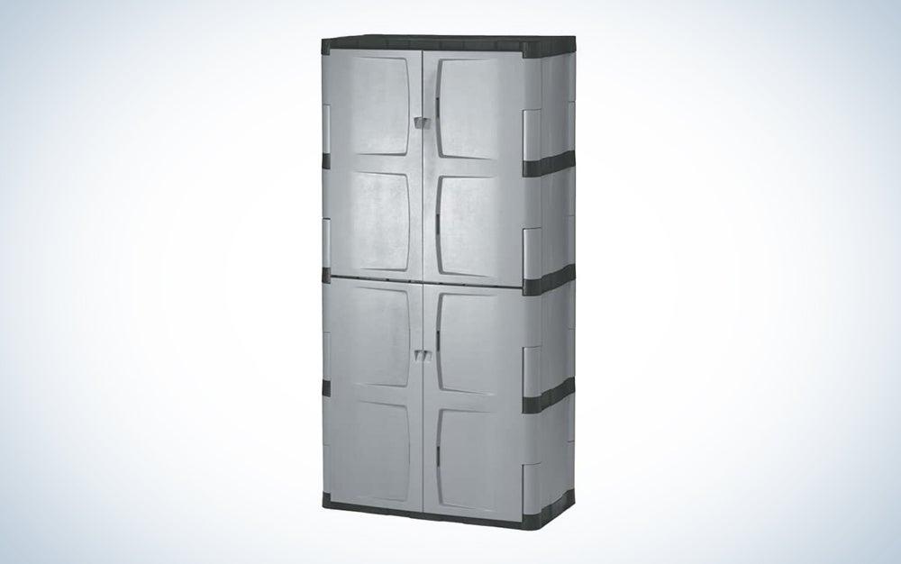 vertical garage storage